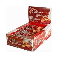 Quest Nutrition, Protein Bar, Strawberry Cheesecake, 12 Bars, 2.12 oz (60 g) Each