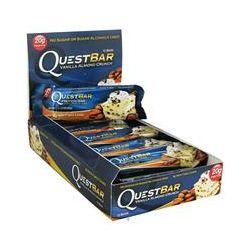 Quest Nutrition, Quest Protein Bar, Vanilla Almond Crunch, 12 Bars, 2.12 oz (60 g) Each