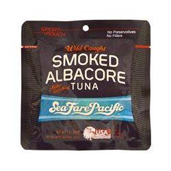 Sea Fare Pacific, Wild Caught Smoked Albacore Alder Smoked Tuna, 3 oz (85 g)