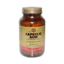Solgar, Caprylic Acid, 100 Tablets