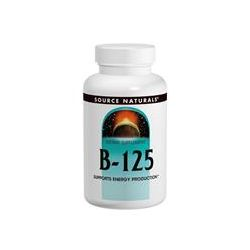Source Naturals, B-125, 125 mg, 90 Tablets