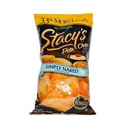Stacy's, Pita Chips, Simply Naked, Nothing But Sea Salt, 8 oz (226.8 g)