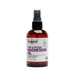 Sunfood, Pure & Potent Magnesium Oil, 4 fl oz (118 ml)