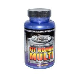 Supplement Training Systems, Fit Woman Multi, 100 Capsules