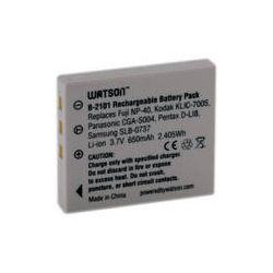 Watson NP-40 Lithium-Ion Battery Pack (3.7V, 650mAh) B-2101 B&H