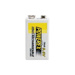 Powerex MHR9V Rechargeable NiMH Battery (9.6V, 230mAh) MHR9V B&H