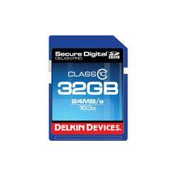 Delkin Devices 32GB SDHC Memory Card Pro Class 10 DDSDPRO3-32GB