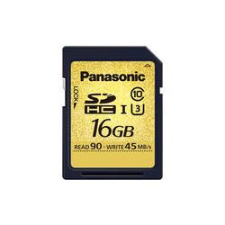 Panasonic 16GB Gold Series UHS-I SDHC Memory Card RP-SDUC16GAK
