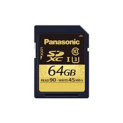 Panasonic 64GB Gold Series UHS-I SDXC Memory Card RP-SDUC64GAK