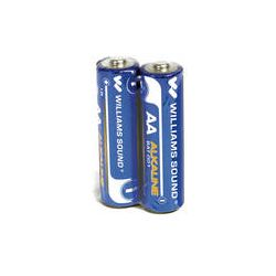 Williams Sound AA Alkaline Battery (2-Pack) BAT 001-2 B&H Photo