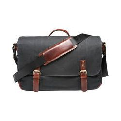 ONA  Union Street Messenger Bag (Black) ONA003BL B&H Photo Video