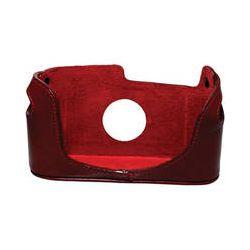 Black Label Bag Half Case for Leica M4, M6, M7, or BLB 302 RED