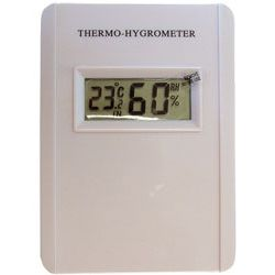 Termometr i higrometr cyfrowy.