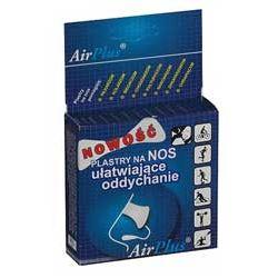 Air Plus - plastry na nos, rozszerzające kanały nosowe (10 szt.)