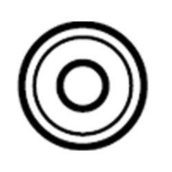 Płytka stomijna Convex Light z przylepcem Alterna