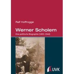 Bücher: Werner Scholem  von Ralf Hoffrogge