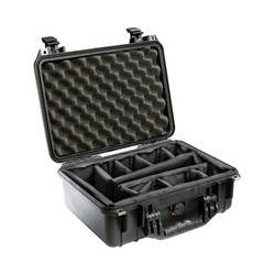 Pelican 1450 Case with Dividers (Black) 1450-004-110 B&H Photo