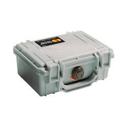 Pelican 1120 Case without Foam (Silver) 1120-001-180 B&H Photo