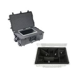 Pelican 1650 Case with Foam and Porta Brace LongLife Divider B&H