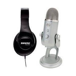 Blue Yeti USB Microphone and Audio-Technica ATH-M35 Headphone