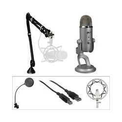 Blue Yeti USB Condenser Microphone (B&H Broadcaster Bundle)
