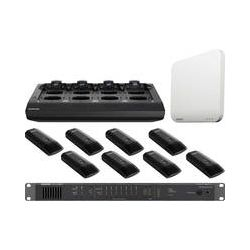Shure 8-Channel MXW Microflex Wireless Boundary Mic MXWS8B/C-Z10