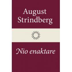 Nio enaktare - August Strindberg - E-bok (9789174998290)