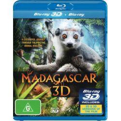 Madagascar (3D Blu-ray/Blu-ray) (1 Disc) on DVD.