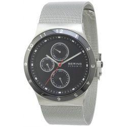 Bering Time Herren-Armbanduhr Ceramic Analog Quarz 32139-042
