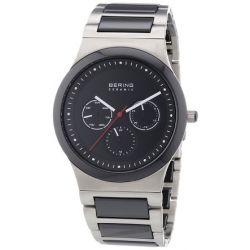 Bering Time Herren-Armbanduhr Ceramic Analog Quarz 32139-702