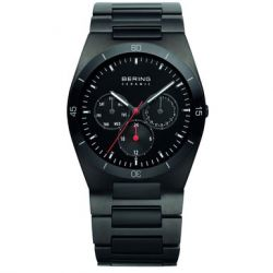 BERING Uhr Ceramic Stahl 32341-792 Herrenuhr Safirglas ceramic steel mens watch