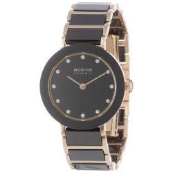 Bering Time Damen-Armbanduhr Ceramic Analog Quarz 11429-746