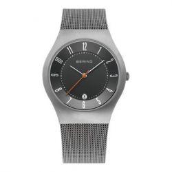 Bering Time Herren-Armbanduhr Classic Analog Edelstahl beschichtet 11937-377
