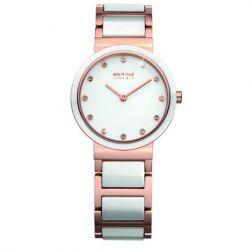 Bering Time Damen-Armbanduhr XS Classic Analog Quarz verschiedene Materialien 10729-766
