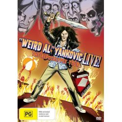 """Weird Al"" Yankovic LIVE! on DVD."