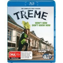 Treme on DVD.