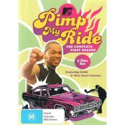 Pimp My Ride on DVD.
