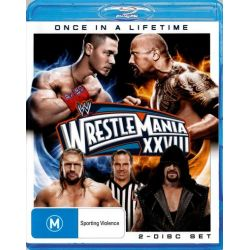 Wrestlemania XXVIII (28) on DVD.