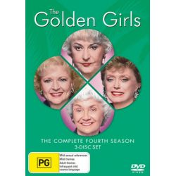 The Golden Girls on DVD.