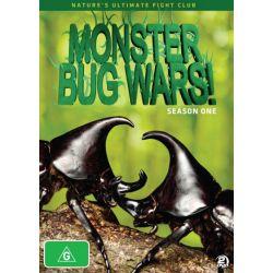 Monster Bug Wars on DVD.