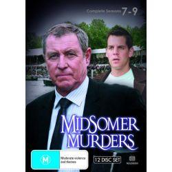 Midsomer Murders on DVD.