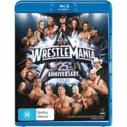 Wrestlemania 25th Anniversary on DVD.