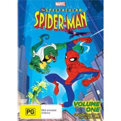 The Spectacular Spider-Man on DVD.