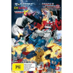 Transformers Japan on DVD.