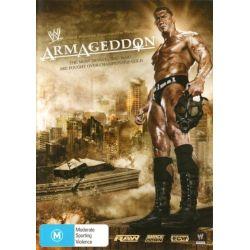 WWE- Armageddon 2007 on DVD.