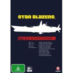 Star Blazers on DVD.
