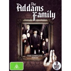 The Addams Family on DVD.