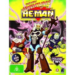 The New Adventures of He-Man on DVD.