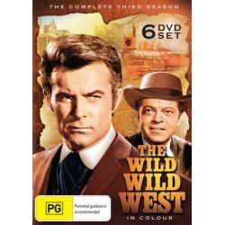 The Wild Wild West - Season 3 on DVD.