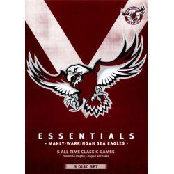 NRL Essentials on DVD.